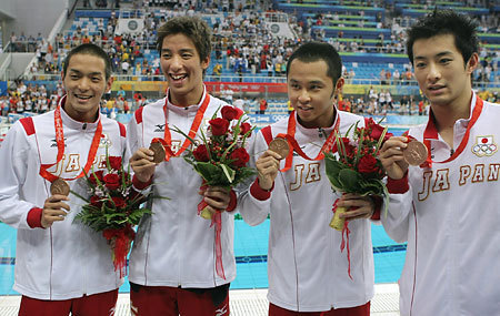 日本メドレーリレー銅メダリスト